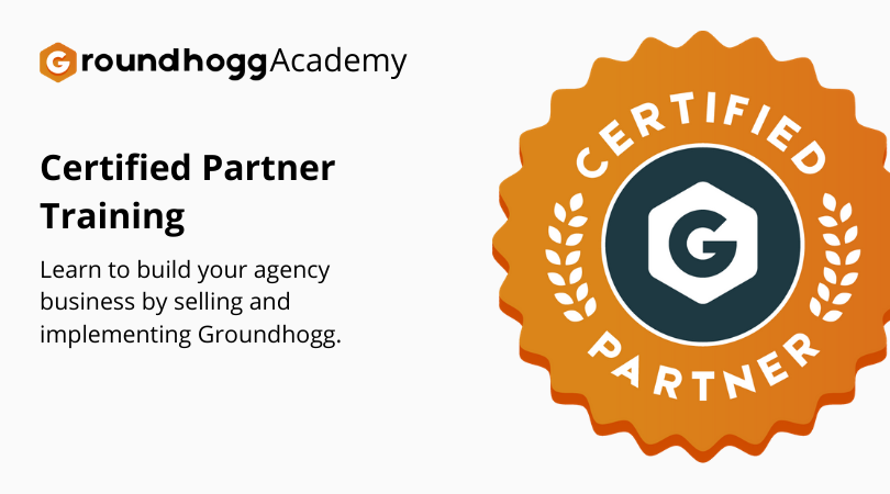 Become a Groundhogg Certified Partner